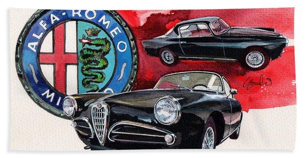 Alfa Romeo Car Gift Beach Towel Bath 140 x 70 cm 55 x 28inch