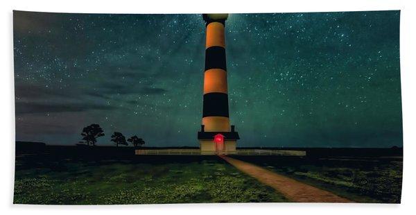 Bodie Island Night Beach Towel