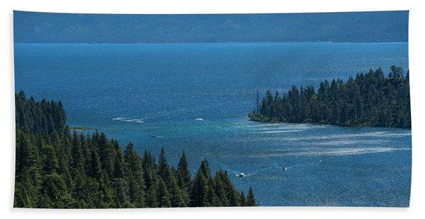 Emerald Bay Channel Beach Towel