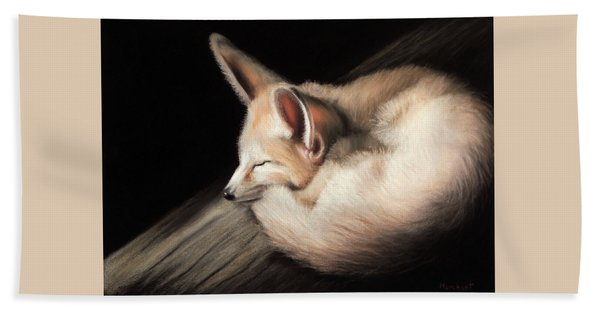 Fennec Fox Beach Sheet