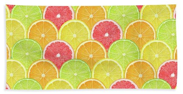 Fresh Fruit  Beach Towel