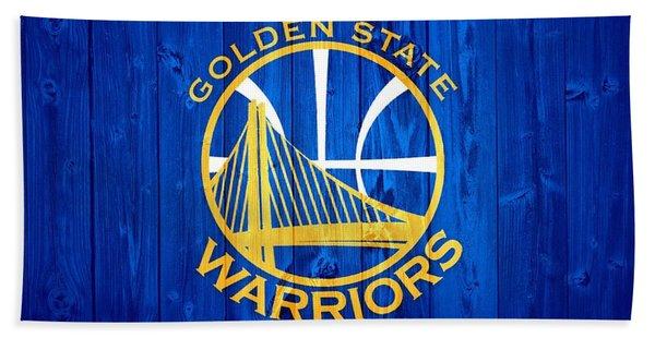 Golden State Warriors Door Beach Towel