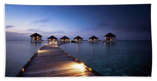 Honeymooners Paradise Beach Towel