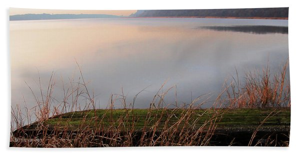 Hudson River Vista Beach Towel