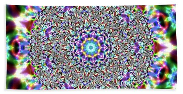 Beach Towel featuring the digital art Jyoti Ahau 56 by Robert Thalmeier