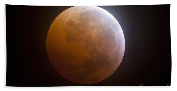 Lunar Eclipse Beach Towel