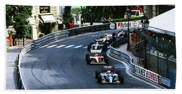 Monte Carlo Casino Corner Beach Towel
