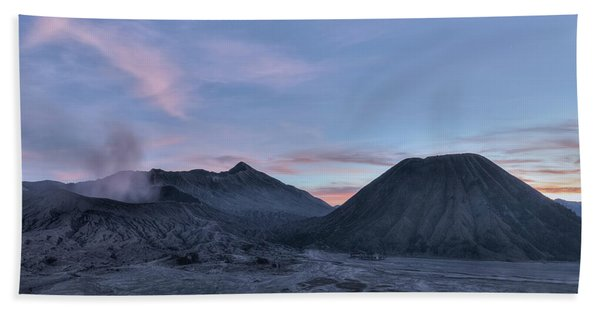 Mount Bromo - Java Beach Towel