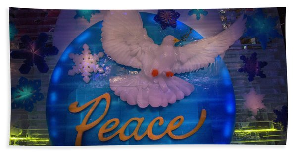 Peace Beach Towel