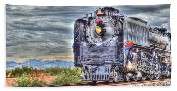 Steam Train No 844 Beach Towel