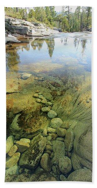 Beach Towel featuring the photograph Stream Dreams by Sean Sarsfield