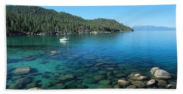 Beach Towel featuring the photograph Summer Anchor by Sean Sarsfield