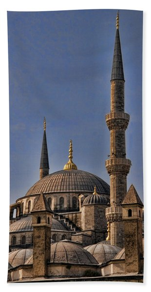 The Blue Mosque In Istanbul Turkey Beach Towel