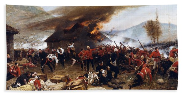 The Defence Of Rorke's Drift 1879 Beach Towel