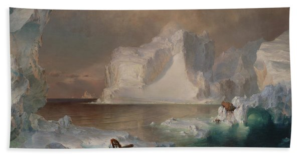 The Icebergs Beach Towel