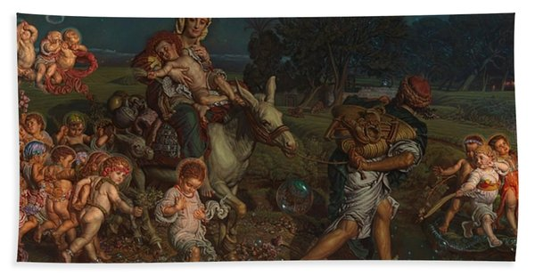 The Triumph Of The Innocents Beach Towel