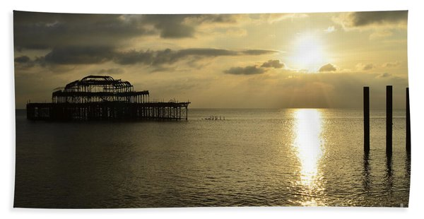 The West Pier Beach Towel