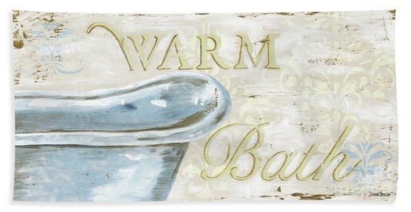 Warm Bath 2 Beach Towel