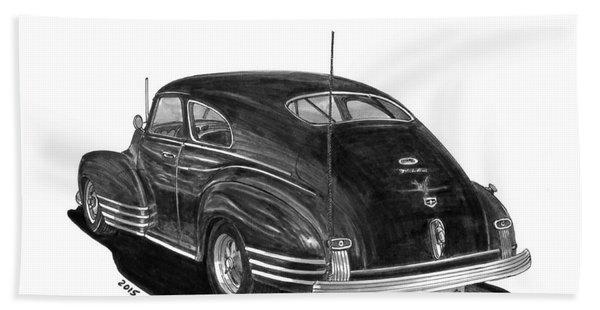 1947 Chevrolet Fleetline Beach Towel