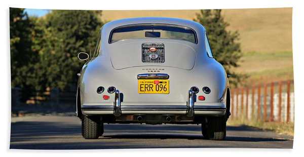 1956 Porsche 356a Rear Beach Towel