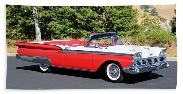 1959 Ford Fairlane 500 Beach Towel