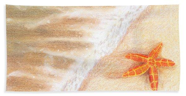 Starfish Vacation Beach Towel