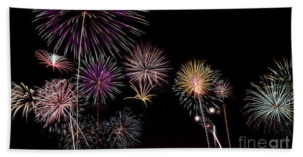 2013 Fireworks Over Alton Beach Towel