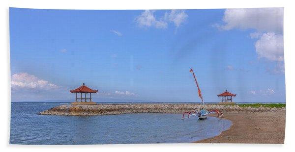 Sanur Beach - Bali Beach Towel
