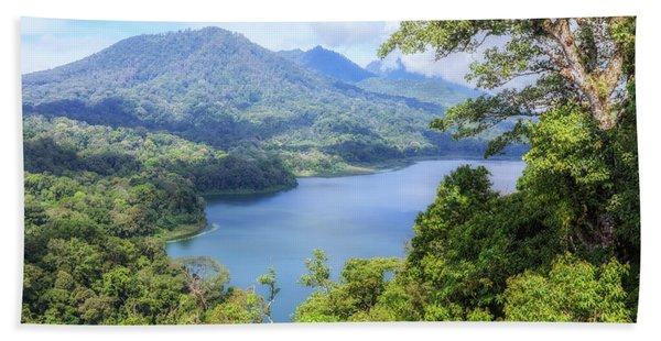 Tamblingan Lake - Bali Beach Towel