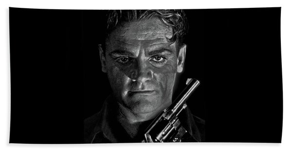 James Cagney - A Study Beach Towel