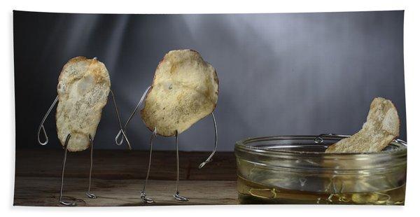 Simple Things - Potatoes Beach Towel