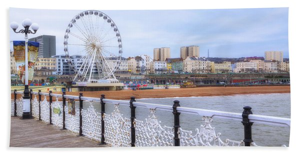 Brighton Pier Beach Towel