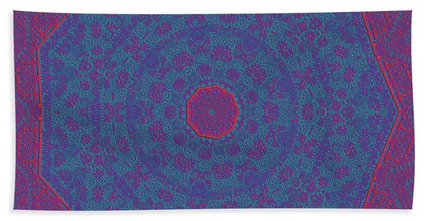 Beach Towel featuring the digital art 9isfine by Robert Thalmeier