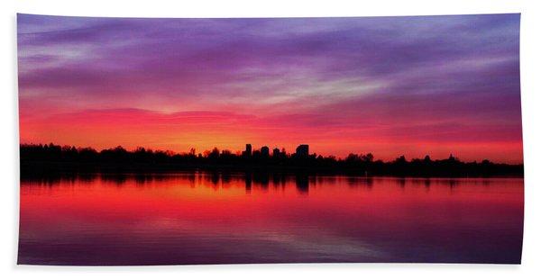 Sunrise At Sloan's Lake Beach Sheet