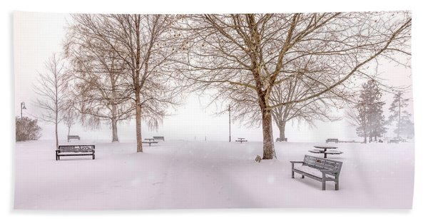 A Beautiful Winter's Morning  Beach Sheet