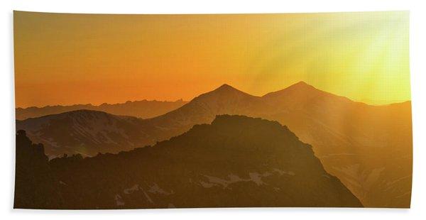 A Colorado Ending Beach Sheet