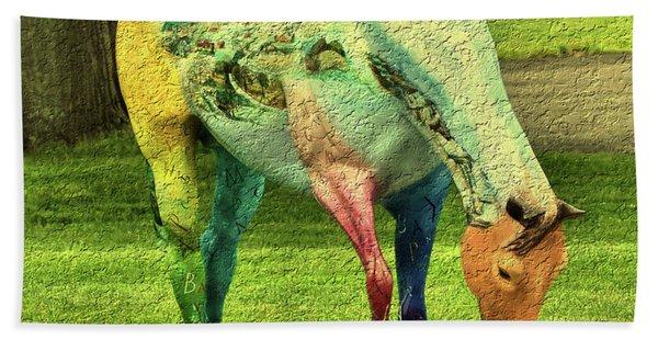 A Horse Is A Horse Beach Towel
