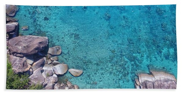 A Little Square Of Paradise  Beach Towel