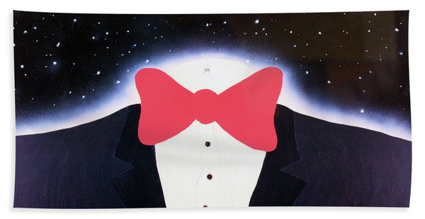 A Night Out With The Stars Beach Towel