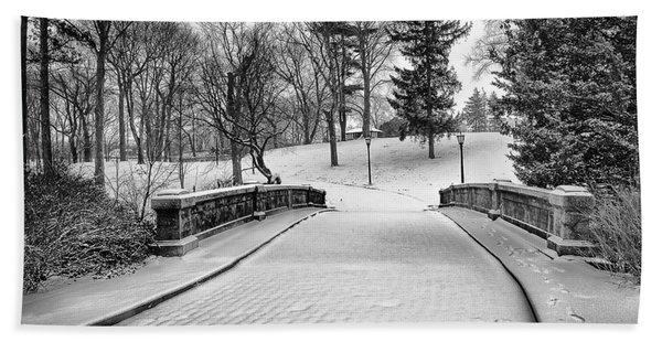 A Walk In The Snow Beach Sheet