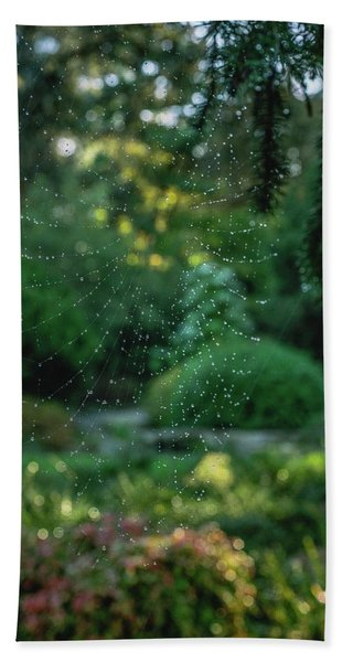 Morning Web Beach Towel