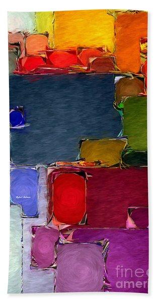 Abstract 005 Beach Towel