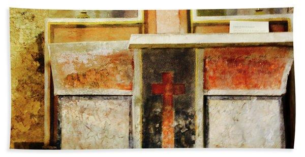 Abstract Altar Beach Towel