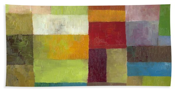 Abstract Color Study Lv Beach Towel