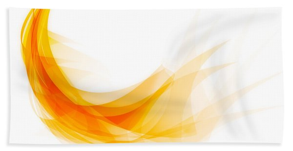 Abstract Feather Beach Towel