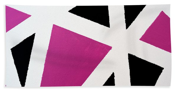 Abstract M1015l Beach Towel