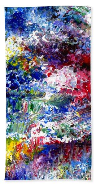 Abstract Series 070815 A2 Beach Towel