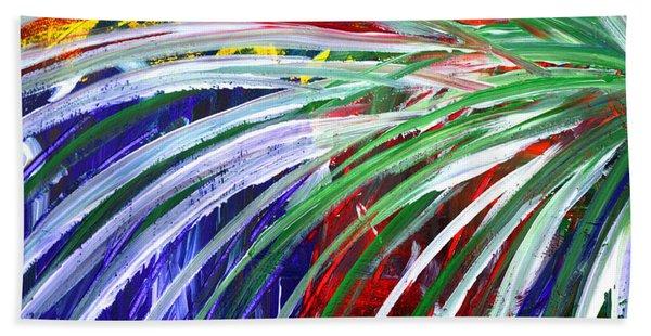 Abstract Series C1015bl Beach Towel