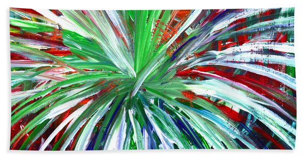 Abstract Series C1015dl Beach Towel