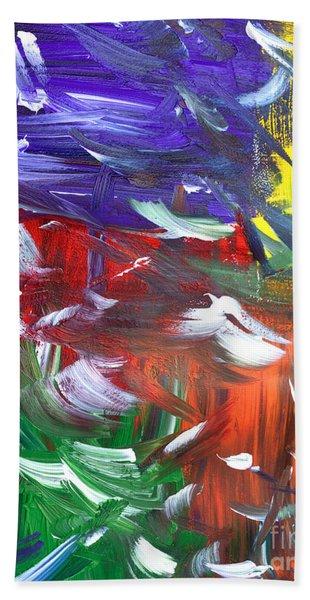 Abstract Series E1015ap Beach Towel